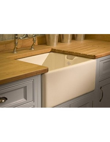 Be600 Shaws Belfast Apron Kitchen Sink White Gloss 60cm Width