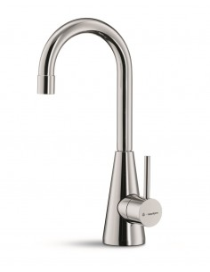 Newform Ycon Cold Water Rinse Kitchen Tap Chrome/Brushed Steel