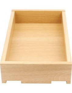 90mm High 440mm Depth Solid Oak Dovetail Drawer Boxes Assembled 300/1000mm