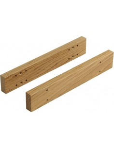 Solid Oak Spacers For In-Frame Kitchen Drawers - Pair