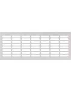 Ventilation Grill Vent 250/500mm x 102mm Recess Mounting Silver