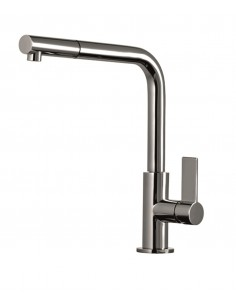 Gessi Aspire Single Lever Mixer & Pull Out Hand Shower Spray