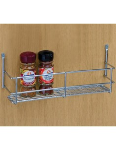 Spice & Packet Rack For Kitchen Wall Cabinet Doors 300mm Mesh