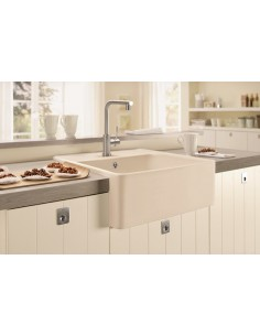 Villeroy & Boch Butler 60 Kitchen Sink & Waste White Ceramic Plus
