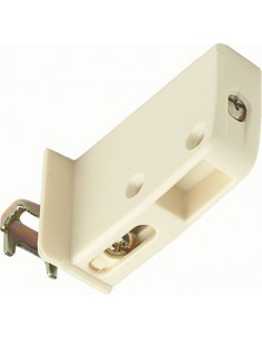 Cabinet Hanger 65Kg Carrying, Screw Fixing, Cream Handed