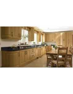Lissa Oak Turrin Kitchen Doors, Stylish, Classic, Timeless