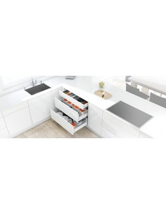 Blum Antaro X3 Drawer Pack 500mm Depth Silk White Easy To Order