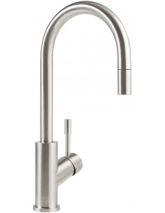 Villeroy & Boch Umbrella Flex Solid Stainless Steel Kitchen Tap Monobloc