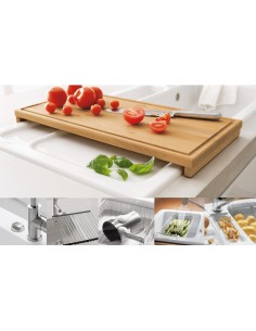 Villeroy & Boch Wooden Chopping Board Sink Accessory