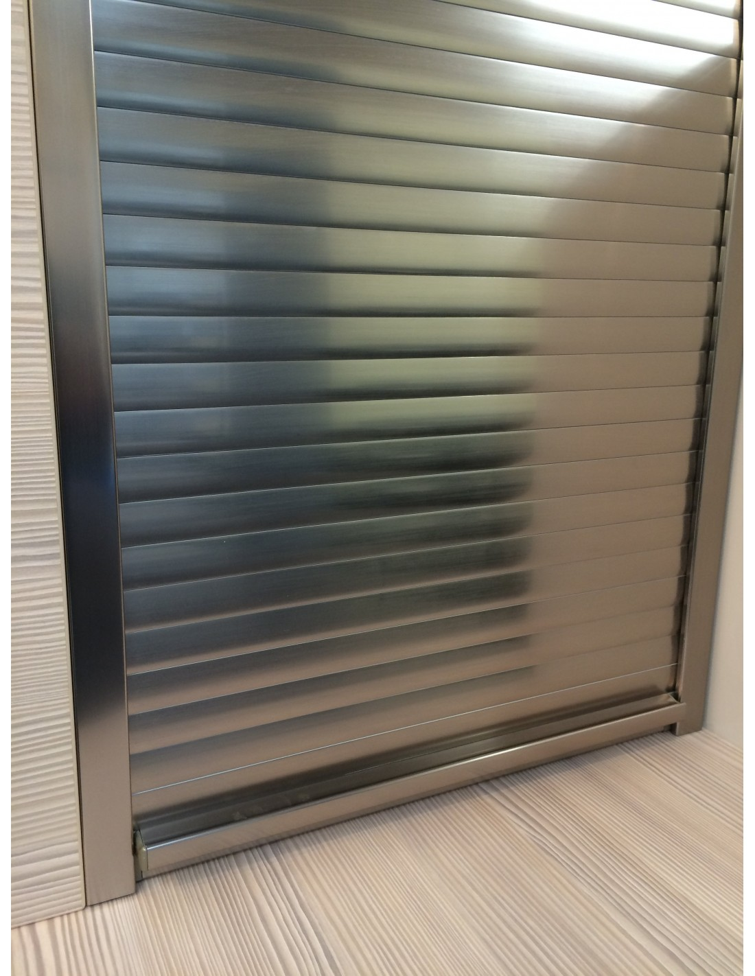 600mm Tambour Door Kits Modern Roller Shutter Doors For