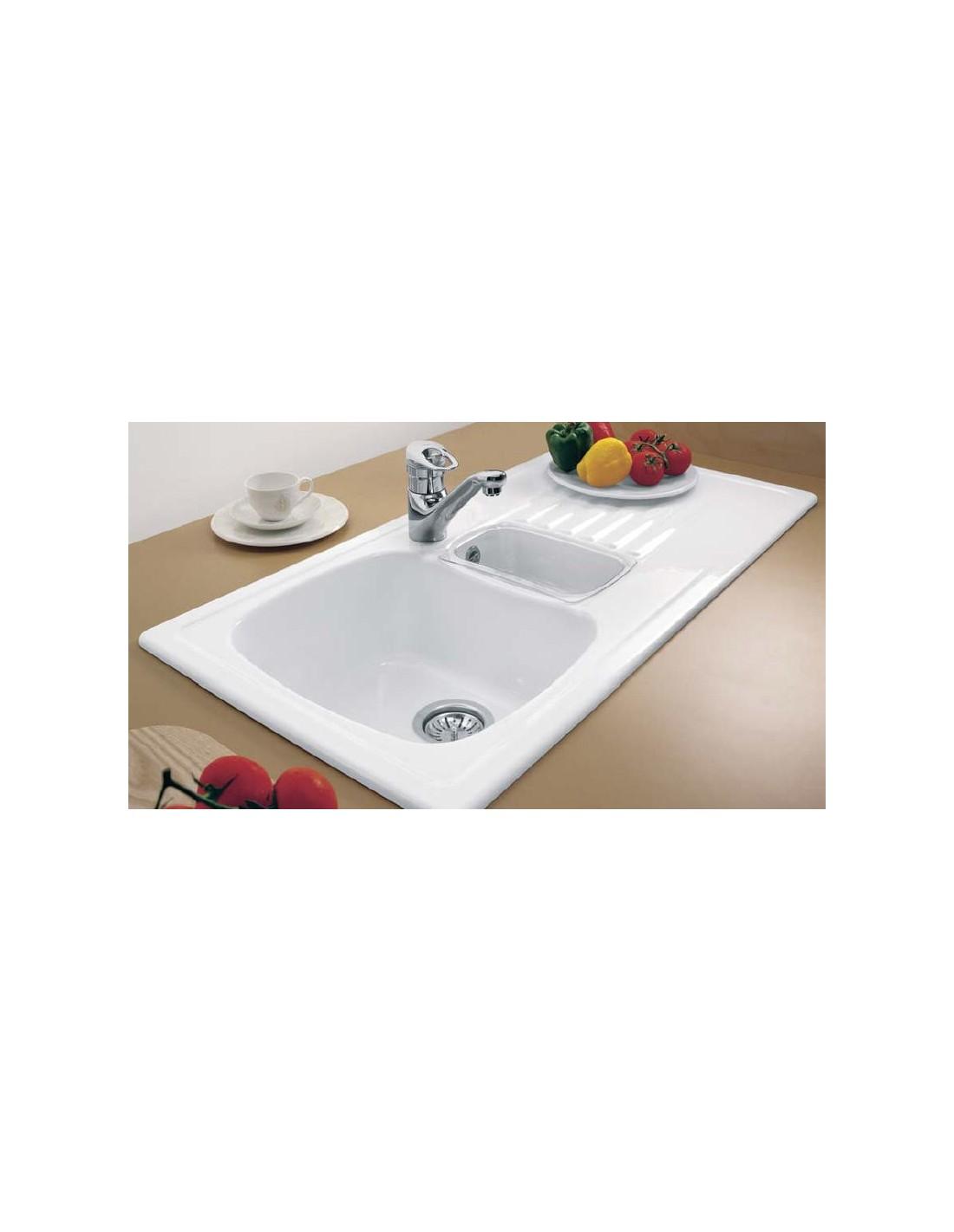 Villeroy & Boch Medici Ceramic Kitchen Sink 1.5 Bowl 6753 ...
