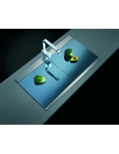 Clearwater Mirage Sink 1.0 & X2 Glass Board Set