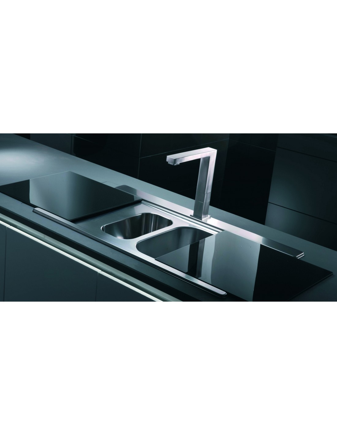 Clearwater Mirage MIR150 Covered Kitchen Sink 1.5 Bowl & Double ...