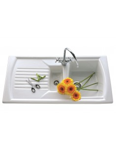 Clearwater Sonnet 1.5 Bowl Ceramic Sink SO15B